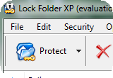 Lock Folder XP 3.9.2 poster