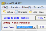 Lotto007 XP 2011 Build 12.3.1 poster