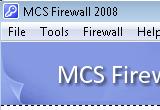 MCS Firewall 2008 7.50 poster