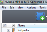 4Media MP4 to MP3 Converter 6.0.6 Build 0625 poster