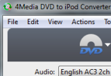 4Media DVD to iPod Converter 6.0.3 Build 0504 poster