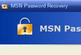 MSN Password Recovery 1.30 poster