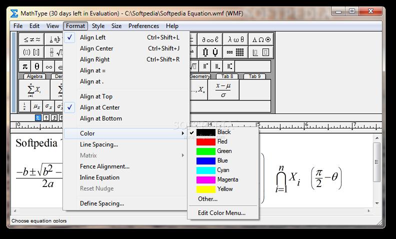 تحميل برنامج mathtype 6.9 عربي