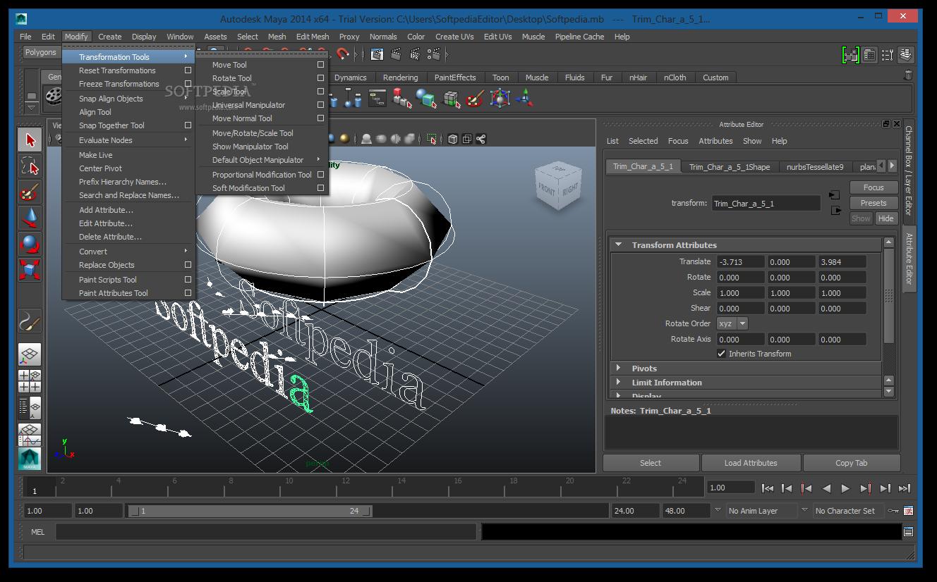 اوتوديسك مايا للتصميم ثلاثي الابعاد للرسوم المتحركة Autodesk Maya