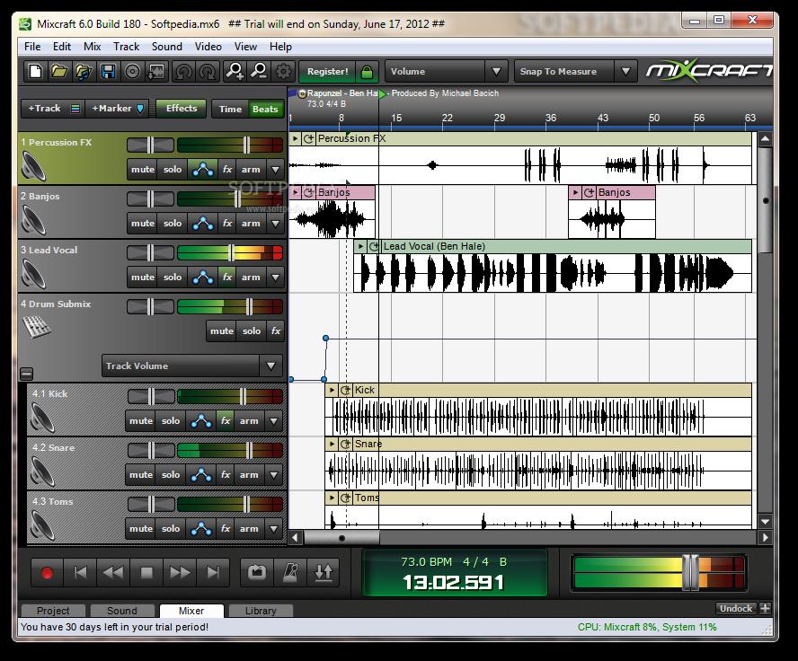 Mixing rap vocals in mixcraft download