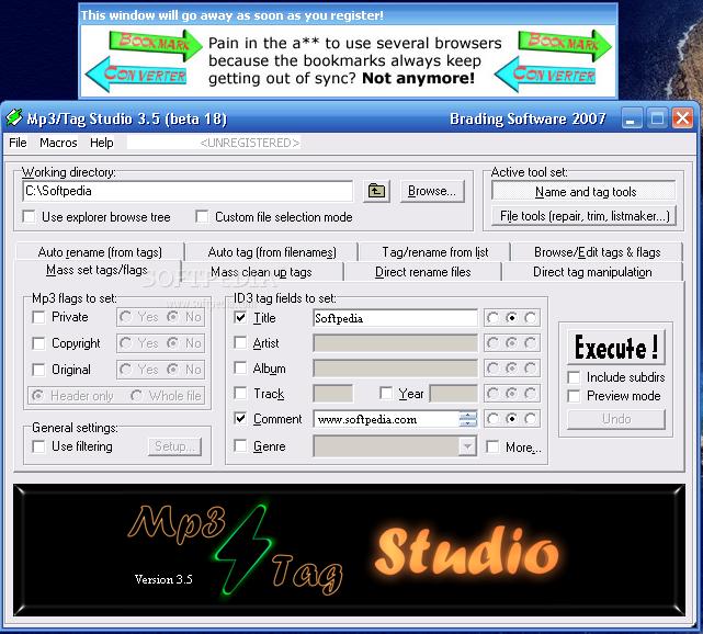Mp3 / Tag Studio 3.5 Beta 21 / 3.05 image 2