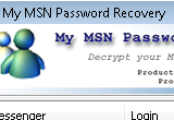 My MSN Password Recovery 1.1 Build 100.2009 poster