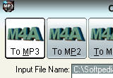 OJOsoft M4A to MP3 Converter 2.6.6.0519 poster