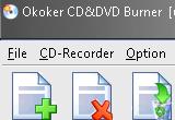 Okoker CD&DVD Burner 6.0 poster