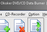 Okoker DVD / CD Data Burner 4.4 poster