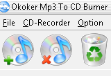 Okoker Mp3 to CD Burner 3.1 poster