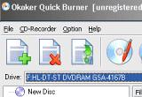 Okoker Quick Burner 4.1 poster