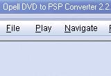 Opell DVD to PSP Converter 2.3.11 poster