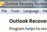 Outlook Recovery ToolBox 3.0.3.0 poster