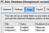 PC Auto Shutdown 5.81 poster