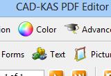 CAD-KAS PDF Editor (formerly PDF Editor) 4.0 poster