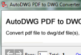 PDF to DWG Converter 3.1 poster