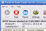 PackPal Bulk Email Server 3.1 poster