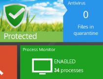 Panda Free Antivirus 15.0.1 poster