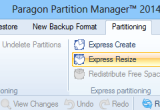 Paragon Partition Manager Free 2014 10.1.21.236 poster