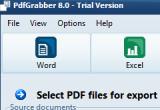 PdfGrabber 8.0.0.18 poster