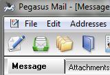 Pegasus Mail 4.70 poster