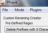 Peter's Flexible Renaming Kit (Pfrank) 2.33 poster