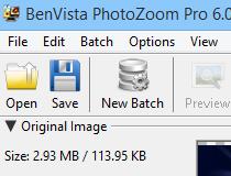 BenVista PhotoZoom Pro 6.0 poster