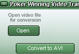 Poker Winning Video Transcoder Enhanced 4.91 poster