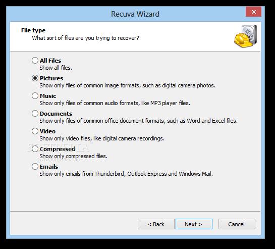 نسخة محمولة من برنامج استعادة الملفات المحذوفة ريكوفا