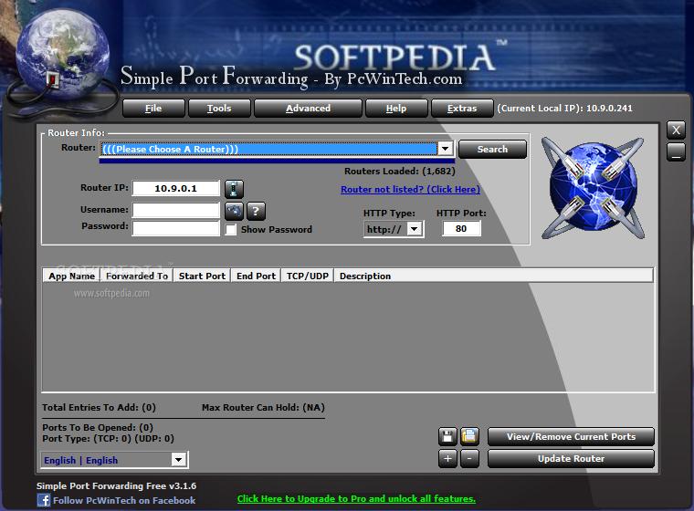 simple port forwarding تحميل برنامج
