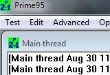 Prime95 28.5 Build 2 poster