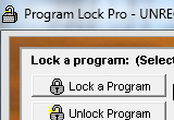 Program Lock Pro 2.31 poster