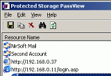 Protected Storage PassView 1.63 poster