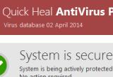 Quick Heal Antivirus Pro 2014 15.00 (8.0.5.0) poster