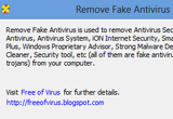 Remove Fake Antivirus 1.99 poster