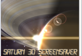 Saturn 3D Space Screensaver 1.0 poster