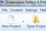 Screensaver Factory Professional 6.6 poster