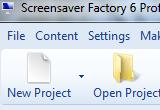 Screensaver Factory Professional 6.6 poster
