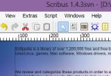 Scribus 1.4.4 poster