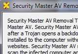Security Master AV Removal Tool 1.0 poster