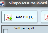 Simpo PDF to Word 3.5.2.0 poster