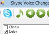 Skype Voice Changer 1.3.2 poster