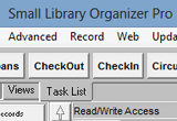 Small Library Organizer Pro 3.1 poster
