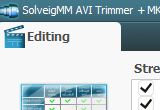 SolveigMM AVI Trimmer + MKV 2.1.1407.1 poster
