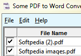 Some PDF to Word Converter 2.0 poster