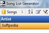 Song List Generator 5.0 poster