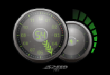 Speed Fan Clock Screensaver 1.1 poster