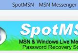 SpotMSN Password Recover 2.4.6 poster