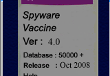 Spyware Vaccine 4.1 poster